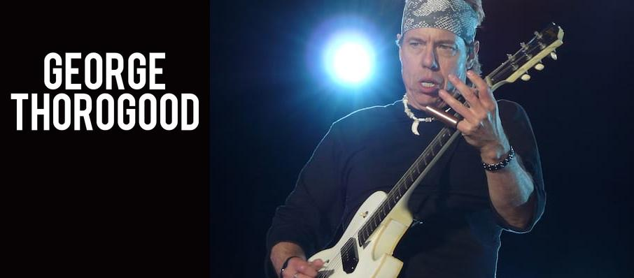 George Thorogood at NAC Southam Hall