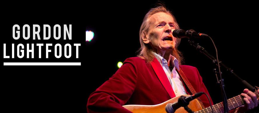 Gordon Lightfoot at Algonquin College Commons Theatre