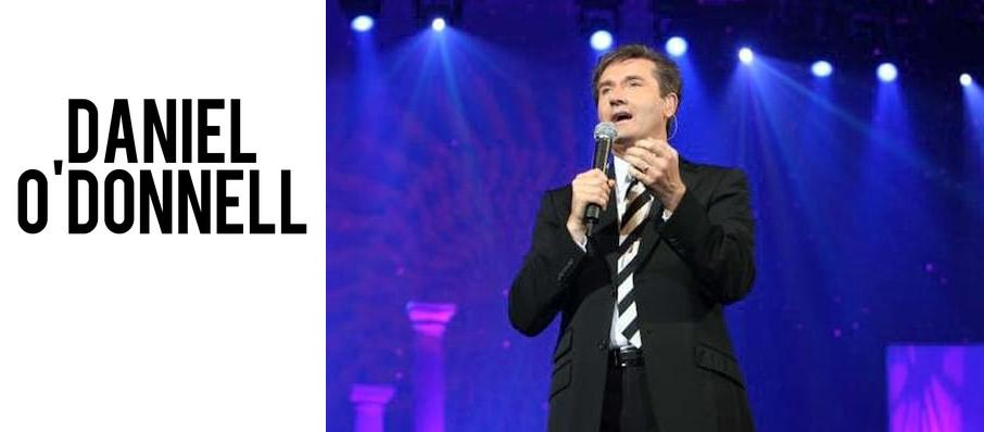 Daniel O'Donnell at NAC Southam Hall