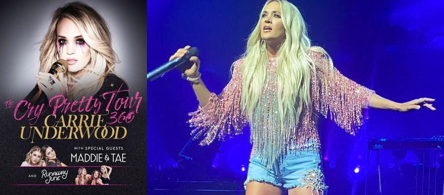 Carrie Underwood at Canadian Tire Centre