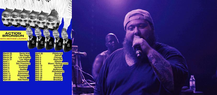 Action Bronson at Algonquin College Commons Theatre