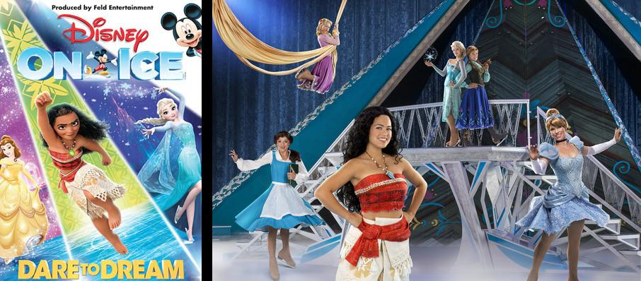 Disney On Ice: Dare To Dream at Canadian Tire Centre