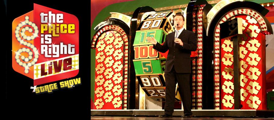 The Price Is Right - Live Stage Show at NAC Southam Hall