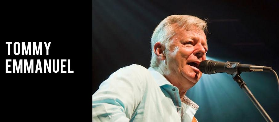 Tommy Emmanuel at Algonquin College Commons Theatre