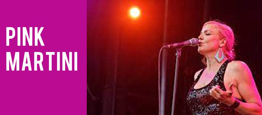 Pink Martini at NAC Southam Hall