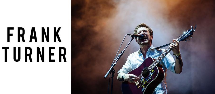 Frank Turner at Bronson Centre