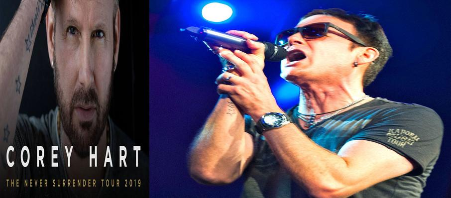 Corey Hart at Canadian Tire Centre