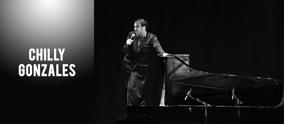 Chilly Gonzales at NAC Southam Hall
