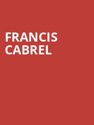 Francis Cabrel at NAC Southam Hall