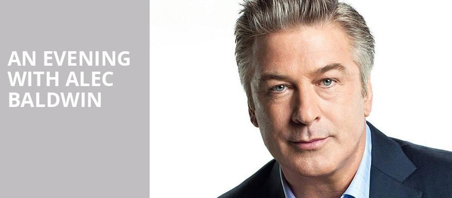An Evening with Alec Baldwin, NAC Theatre, Ottawa