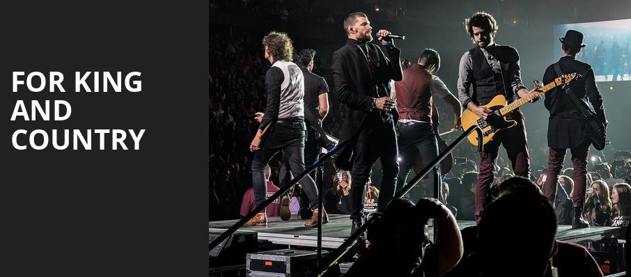 For King And Country, TD Place Arena, Ottawa