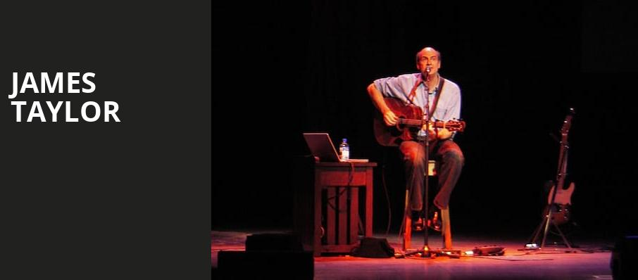 James Taylor, Canadian Tire Centre, Ottawa