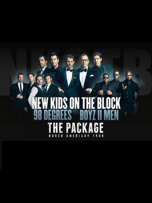 New Kids On The Block, 98 Degrees & Boyz II Men Poster